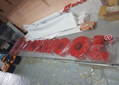 turiniu raidziu gamyba Rockwool